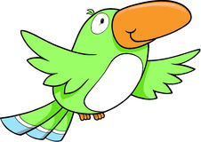 Tropischer Vogel-Vektor stock abbildung