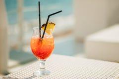 Tropisches Cocktail Lizenzfreie Stockfotos