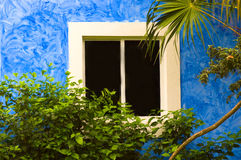Tropisches Fenster Lizenzfreie Stockfotografie