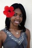 Tropisches Insel Mädchen lizenzfreies stockfoto