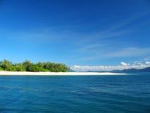 Tropisches Insel-Paradies lizenzfreies stockbild