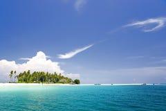 Tropisches Insel-Paradies Stockbild