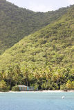 Tropisches Inselgebäude lizenzfreies stockbild