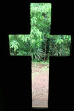 Tropisches Kreuz der Natur Stockfotografie