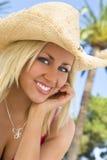 Tropisches Lächeln stockfoto