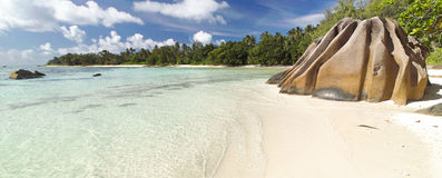 Tropisches Landschaftspanorama Stockfotografie