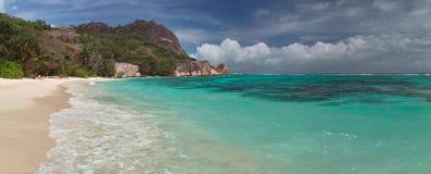 Tropisches Landschaftspanorama Stockbild