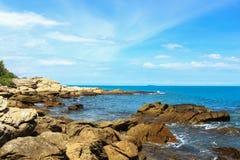 Tropisches Meer in der Feiertags-Szene stockbild