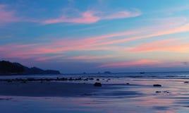 Tropisches Meer-sanset Lizenzfreie Stockbilder