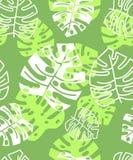 Tropisches mit Blumenmuster des Sommers Ausführliche vektorzeichnung lizenzfreie stockbilder