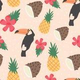 Tropisches Muster Lizenzfreie Stockfotografie