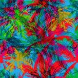 Tropisches Muster 36 stock abbildung
