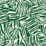 Tropisches Muster, vector Blumenhintergrund Nahtloses Muster der Palmblätter Chaotische raue Beschaffenheit auf weißem Hintergrun lizenzfreie abbildung