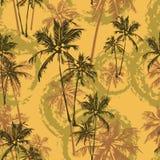 Tropisches Palmenmuster Lizenzfreie Stockbilder