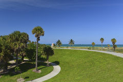 Tropisches Paradies Miami-Südstrandes Lizenzfreie Stockfotografie