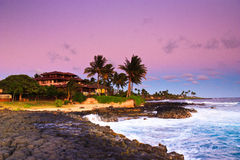 Tropisches Paradies, romantische Flucht, Kauai Hawaii Stockfoto