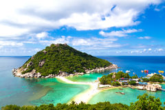 Tropisches Paradies in Thailand Stockfoto