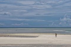 Tropisches polynesisches Paradies Urquoise Lizenzfreie Stockfotos