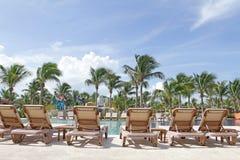 Tropisches Pool Lizenzfreies Stockfoto