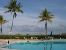 Tropisches Pool Stockfotos