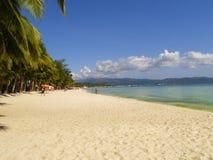 Tropisches Sandy Beach Lizenzfreies Stockfoto