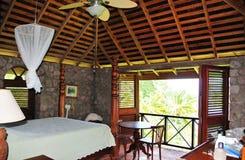 Tropisches Schlafzimmer Lizenzfreie Stockfotografie
