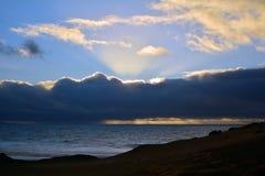 Tropisches Strand La geschnitten nahe Costa Calma in Fuerteventura, Kanarische Insel, Spanien Stockfoto
