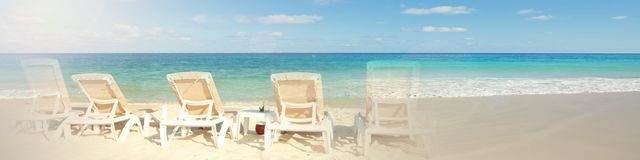 Tropisches Strandmeer lizenzfreies stockfoto