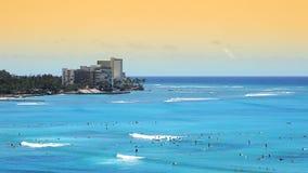 Tropisches Strandurlaubsort-Paradies stock footage
