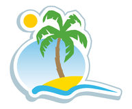 Tropisches Symbol Stockfotos