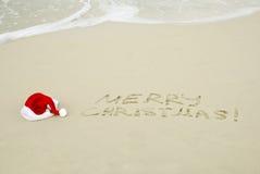 Tropisches Weihnachten Stockbild