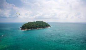 tropisk ö Fotografering för Bildbyråer