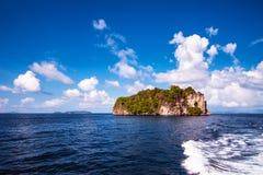 tropisk ö Arkivfoton
