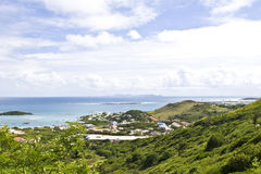 Tropisk ö för St Maarten royaltyfria bilder