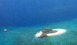 Tropisk ö, Fiji Arkivbilder