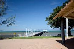 Tropisk ö, strandsikt Royaltyfri Bild