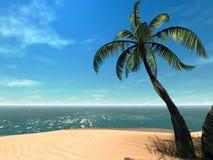 tropisk 3d Arkivbild