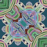 Tropisk attraktion abstrakt datalistor stock illustrationer