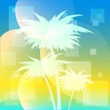 tropisk bakgrund Arkivfoton