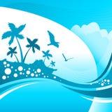 tropisk bakgrund