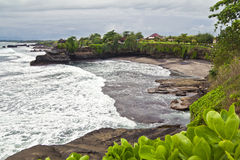 tropisk bali strand Royaltyfria Bilder