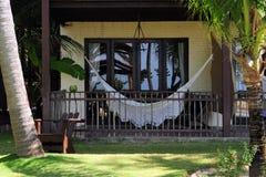 tropisk balkong Arkivbilder