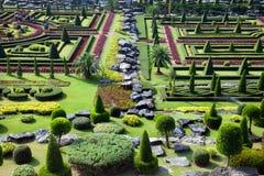 tropisk botanisk trädgård royaltyfri bild