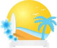 tropisk cirkelliggande Royaltyfri Bild