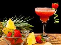 tropisk coctailfrukt royaltyfri bild