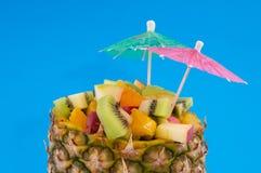 tropisk coctailfrukt Arkivfoton