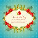 tropisk dag Royaltyfria Bilder