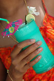tropisk drink Royaltyfria Foton