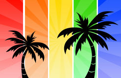 tropisk ferie Royaltyfria Foton