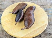 Tropisk frukt Jatoba Fotografering för Bildbyråer